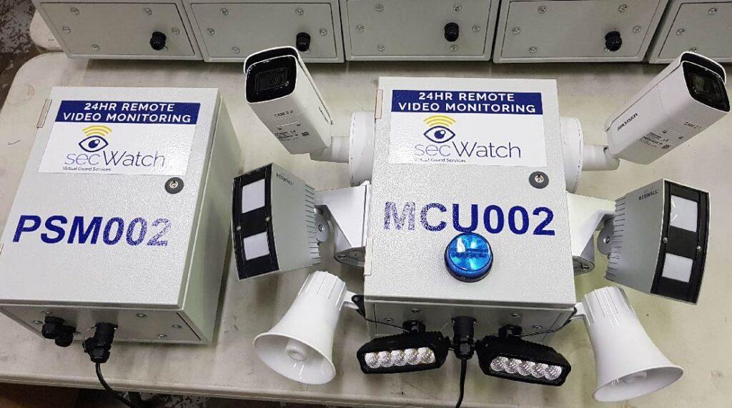 secWatch CCTV mobile camera units