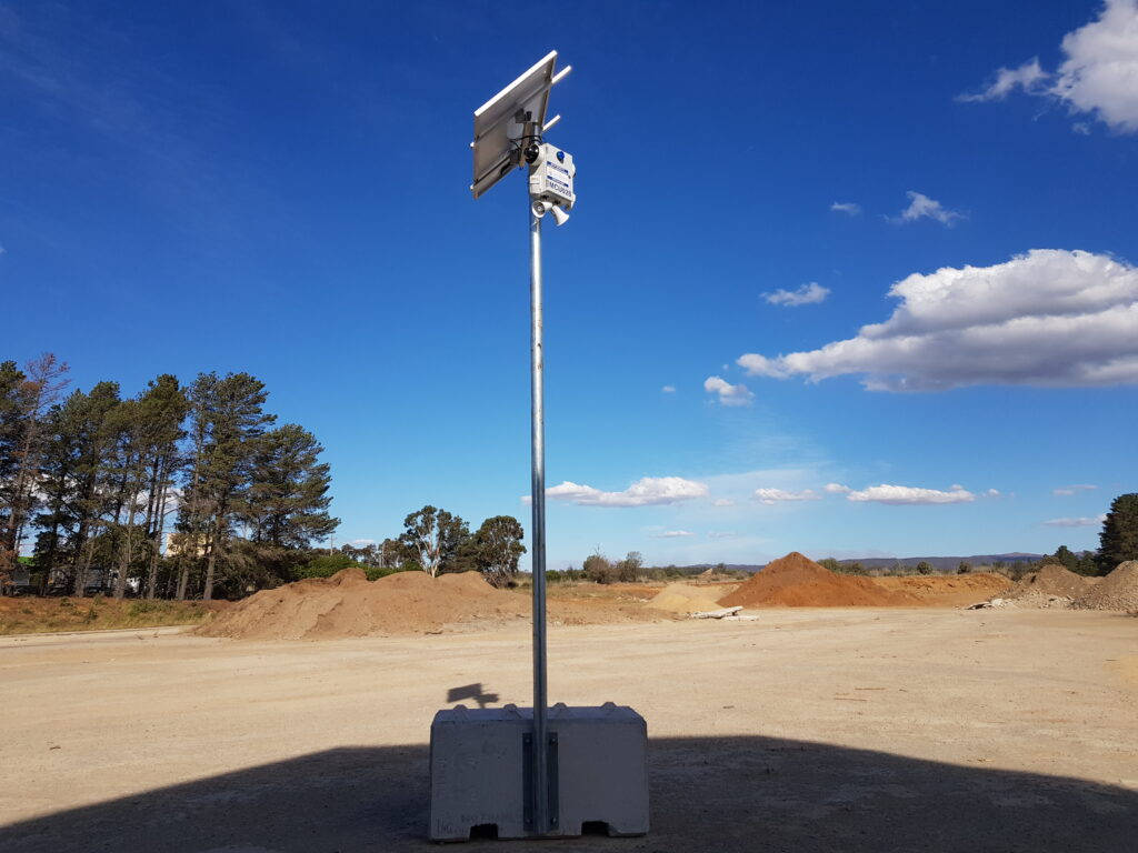 Pole mounted CCTV